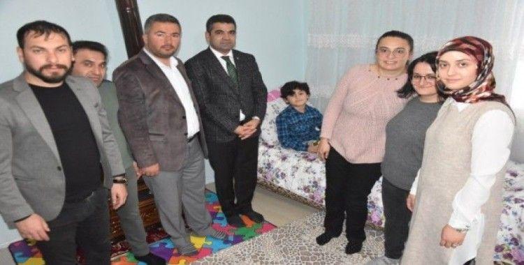 Bitlis'te 75 engelli öğrenci evde eğitim alıyor