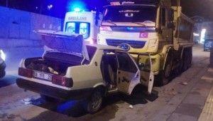 Ankara'da trafik kazası, 1'i ağır, 2 yaralı
