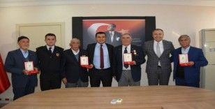 Selendili Kıbrıs gazileri madalyalarını aldı