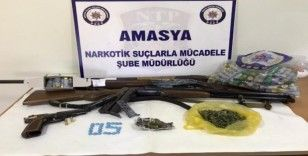 Amasya'da uyuşturucu operasyonu: 6 tutuklama