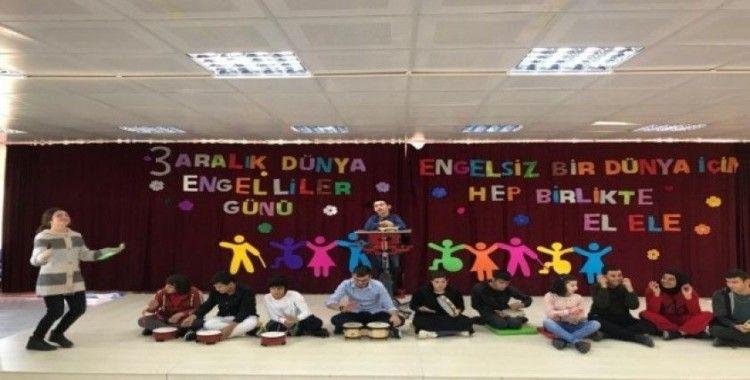 3 Aralık Dünya Engelliler Günü Burhaniye'de çeşitli etkinliklerle kutlandı