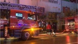 Bursa'da alışvreriş merkezinde yangın alar mı