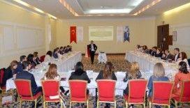 Sağlıkçılar halk sağlığı eğitimi için Eskişehir'de buluştu.