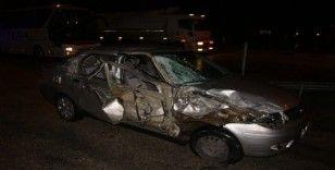 Manisa'da ilginç kaza