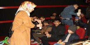 Engelli öğrenciler sinemayla buluştu