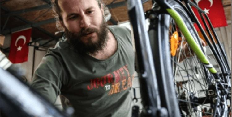 Bisikletle Afrika