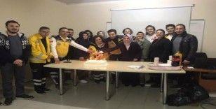 Kula'da 112 acil personeli 25'inci yılını kutladı