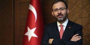 Gençlik ve Spor Bakanı Kasapoğlu, Batuhan Yaşar'a konuştu