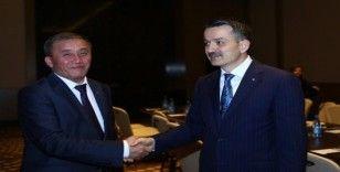 Bakan Pakdemirli, Kırgızistan ve Özbekistan tarım bakanları ile görüştü