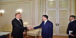 Azerbaycan Cumhurbaşkanı Aliyev, Tarım ve Orman Bakanı Pakdemirli'yi kabul etti