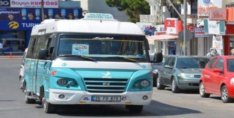 İzmir'de minibüs fiyatlarına zam