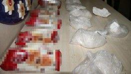 Kruvasan paketlerine saklanan kokain ele geçirildi
