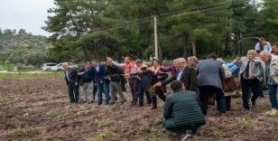 Bodrum'da ata tohumları geleceğe serpildi