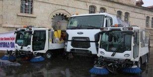 Sivas Belediyesi'nin yeni temizlik araçları hizmete alındı