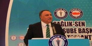"""Sağlık-Sen Diyarbakır Şube Başkanı Ensarioğlu: """"Miladını dolduran mevcut döner sermaye yönetmeliği değişmeli"""""""