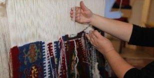 Sivrihisar'da kilim dokuma sanatı yeniden canlanıyor