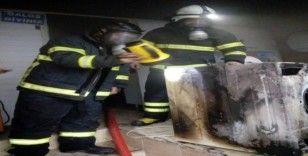 Amasya'da iş yeri yangını