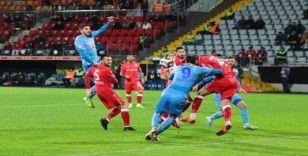 Ziraat Türkiye Kupası: Çaykur Rizespor: 3 - Yılport Samsunspor: 1 (İlk yarı)
