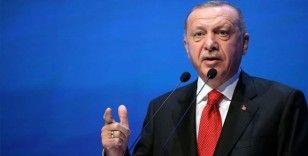 Erdoğan Macron'a çıkıştı: Sen niye bunun üzerinde bu kadar duruyorsun?