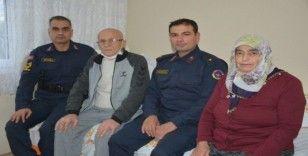 Komutanlardan Kıbrıs gazisine vefa
