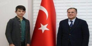 Hacılar Erciyesspor'lu futbolcu milli takım seçmelerine çağrıldı