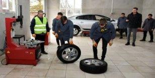 Mesleki ve Teknik Anadolu Lisesi Motorlu Araçlar Teknoloji binası açıldı