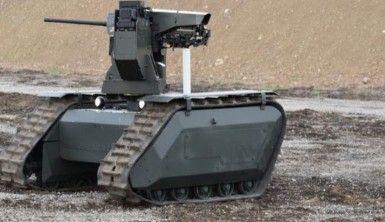 İnsansız kara aracı göreve hazır
