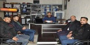 AK Parti'li Bulut'tan gazetecilere ziyaret