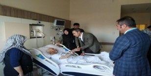 """Kaymakam Hasan Çiçek: """"Örnek bir hastanemiz var"""""""