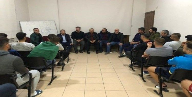 Başkan Kibar'dan Fatsa Beleidyspor'a moral