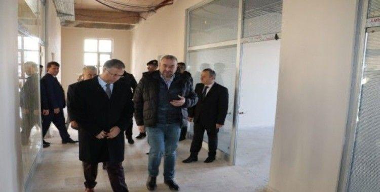 Şakalar, Türkeli'de yatırımları inceledi