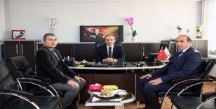 Vali Cüneyt Epcim DSİ Şube Müdürlüğünü ziyaret etti