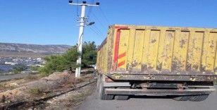 Mersin'e sokulmak istenilen bir kamyon köpek geri gönderildi