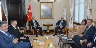 Irak Büyükelçisi Cenabi, Vali Tutulmaz'ı ziyaret etti