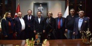 Başkan Ataç, Noyan Rona ile buluştu