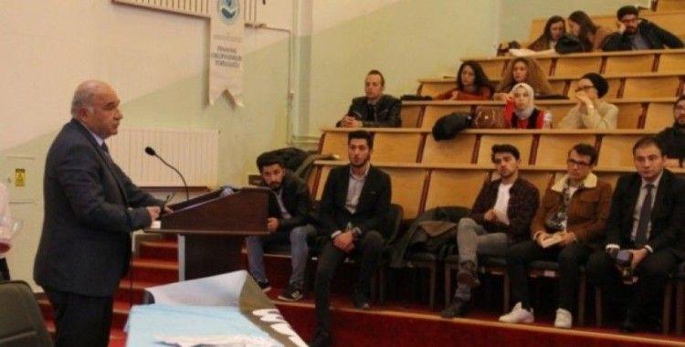 DPÜ'de 'Gelişime Son 1 Adım' başlıklı konferans