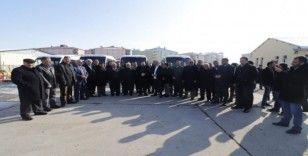 Başkan Sayan, yeni araçları konvoyla halka tanıttı