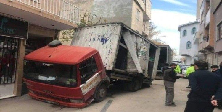 Bursa'da inanılmaz kaza