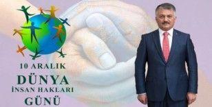 Vali Yazıcı'dan 'Dünya İnsan Hakları günü' mesajı