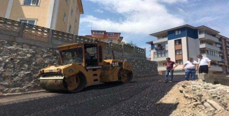115 bin 236 metrekare sıcak asfalt yapıldı