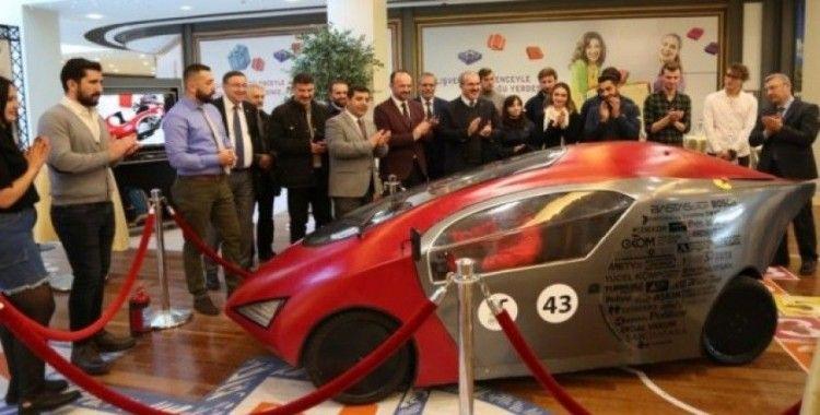 DPÜ DUSCART yerli ve milli yeni aracı 'Alfa'yı tanıttı