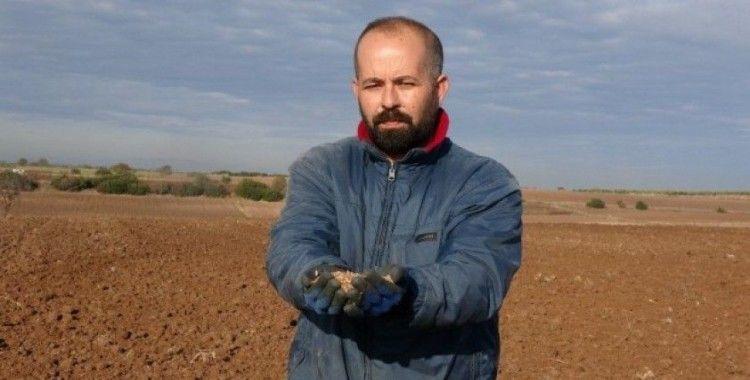 Amerikan ambargosuna tepki için köylerine yerli ve milli tohum ektiler