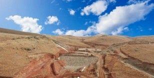 Erzurum Köşk Barajı bin yediyüz yetmiş dekar araziyi sulayacak