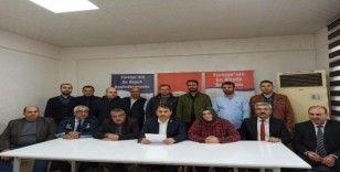 Kilis'te Doğu Türkistan ve Mısır'daki zulümlere tepki