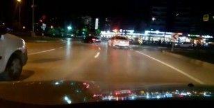 Bursa'da drift yapan sürücüler emniyetten kaçamadı
