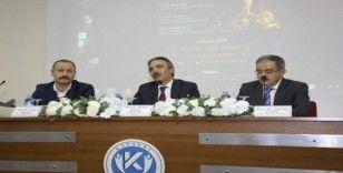 """Rektör Bağlı, """"Türk İslam medeniyetinin dünya medeniyetlerine katkıları"""" konulu panele katıldı"""