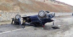 Kahramanmaraş'ta otomobil takla attı: 1 ölü, 1 yaralı