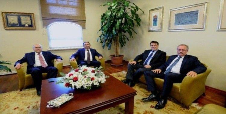 Başsavcı Şen'den Başkan Dündar'a iade-i ziyaret