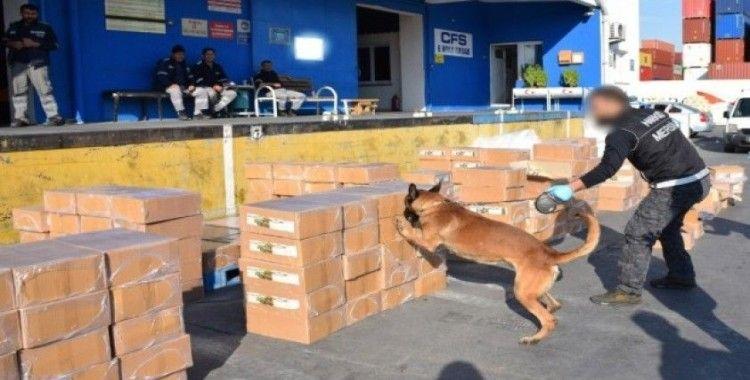 Konserve kutularında uyuşturucu kaçakçılığı