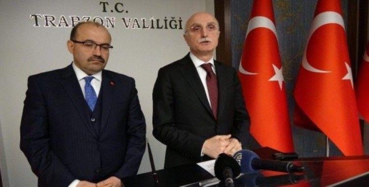 İçişleri Bakan Yardımcısı Tayyip Sabri Erdil Trabzon'da